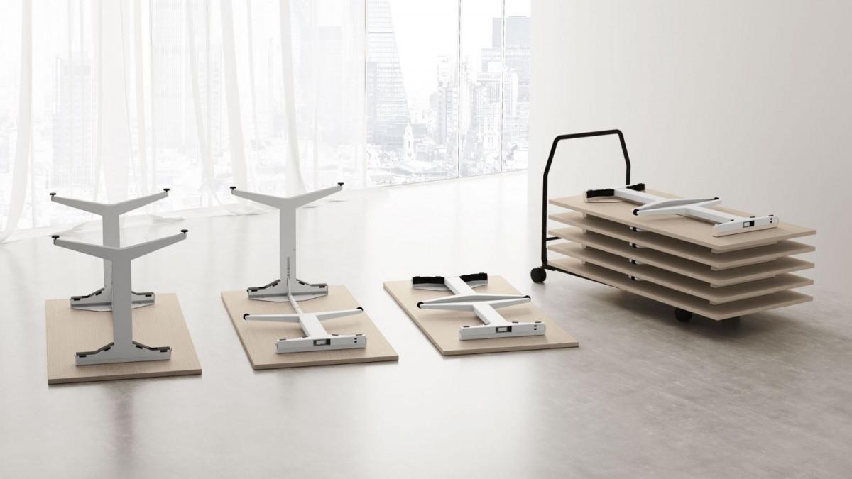 Tavoli Ufficio Design : Tavoli ufficio pieghevoli pml office
