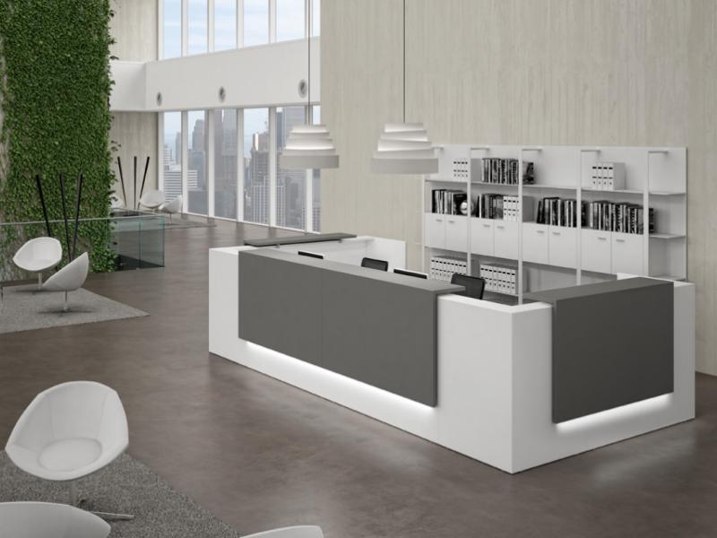 Banconi reception pml office for Mobili per ufficio reception